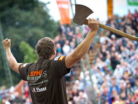 German Championship 2011 / STIHL® TIMBERSPORTS® SERIES, © Photo by Andreas Langreiter/Global Newsroom