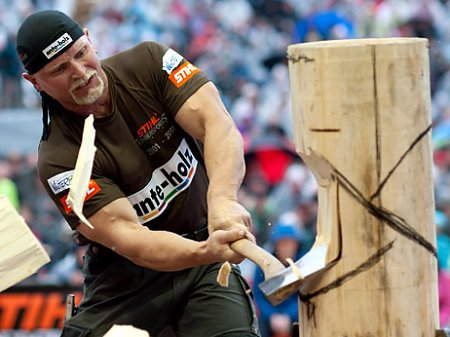 German Championship 2011 / STIHL® TIMBERSPORTS® SERIES, © Photo by Andreas Schaad/Global Newsroom